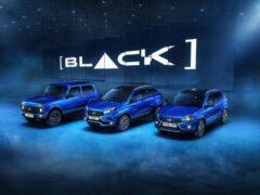 АвтоВАЗ открыл продажи BLACK-серии моделей Lada 4×4 и XRay Cross