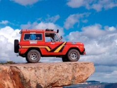 Ford Bronco с двигателем V6 готовят для марафона Baja 1000