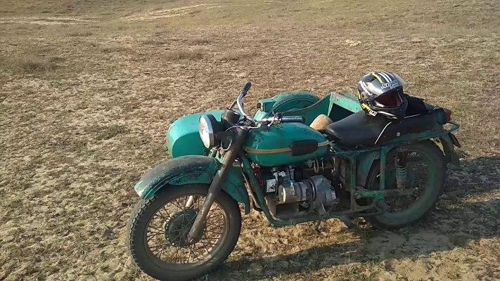 Урал, мотоцикл, двигатель Lifan