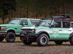 Новый Ford Bronco получил версию для огнеборцев