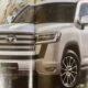 Названа дата премьеры внедорожника Toyota Land Cruiser 300