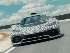 Mercedes-AMG One получит мощность более 1 200 лошадиных сил