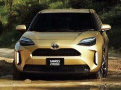 Кроссовер Toyota Yaris Cross стал самым продаваемым авто в Японии