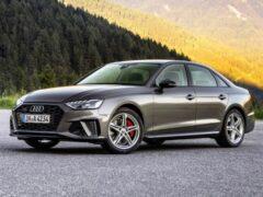 В России стартовал прием заказов на рестайлинговые Audi A4 и Audi A5
