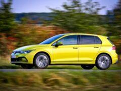 Бренд Volkswagen показал битопливный Golf новой генерации