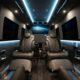 Фургон Mercedes-Benz Sprinter превратили в бронированный мобильный офис