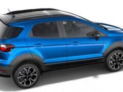 Ford EcoSport в версии Active рассекречен до премьеры