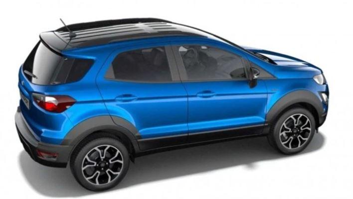Ford EcoSport Active 2021, внедорожный