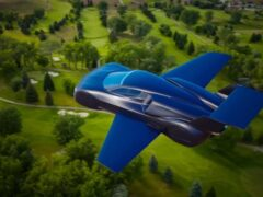 Firenze представил проект летающего автомобиля Lanciare