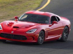 В третьем квартале 2020 года Dodge продал всего два новых Viper