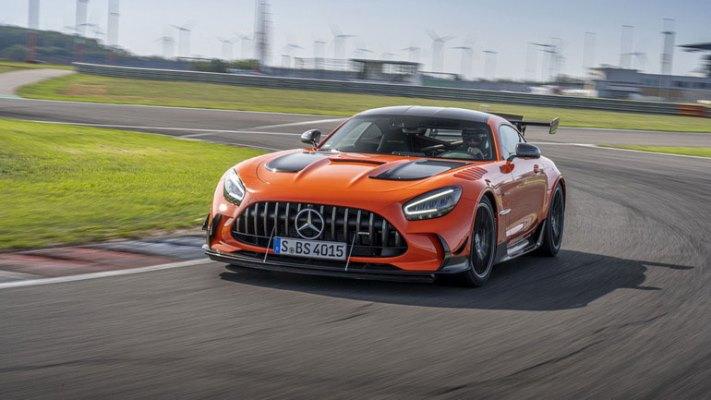 Mercedes-AMG GT Black Series, новый