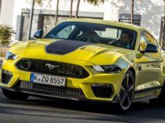 Спорткар Ford Mustang Mach 1 для Европы оказался слабее американского