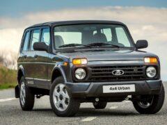 АвтоВАЗ приостановил выпуск пятидверного внедорожника Lada 4×4
