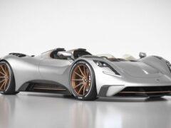Ателье Ares Design представил новый родстер S1 Project Spyder