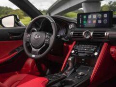 Lexus объявил стоимость седана IS 2021 модельного года