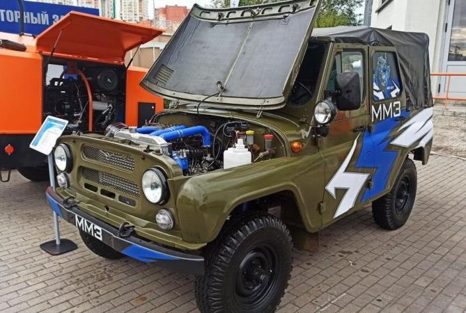 УАЗ-3151, новый турбодизель MMZ-4DTI