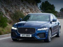 Jaguar представила обновлённый Jaguar XF