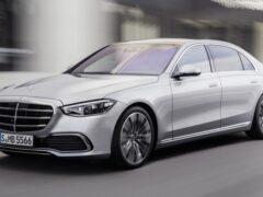 В Сети появились первые изображения нового Mercedes-AMG S 63