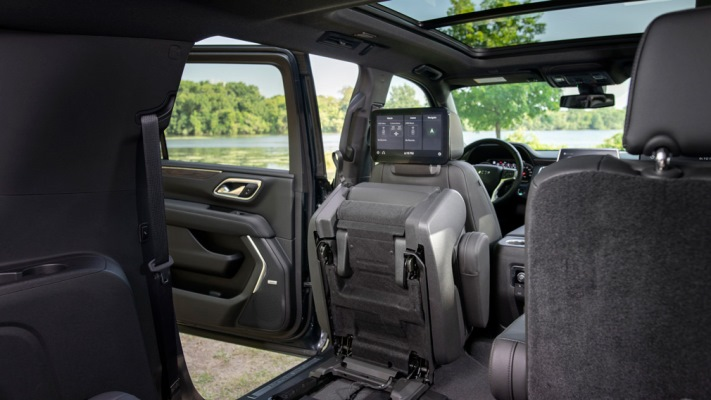 Chevrolet Suburban, мультимедиа