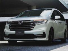 Минивэн Honda Odyssey обновился