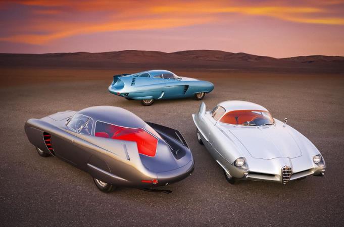 Alfa Romeo B.A.T. 5, 7 и 9
