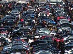Продажи 9-летних автомобилей в РФ выросли на 72%