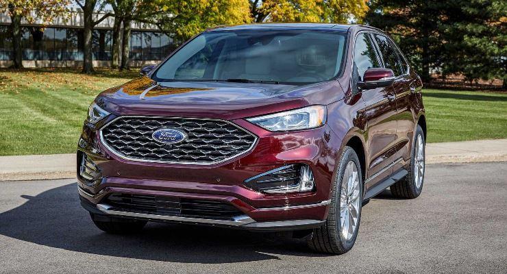 Ford Edge 2021 года