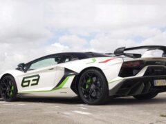 На дрэг вывели Lamborghini Aventador SVJ и Huracan Performante
