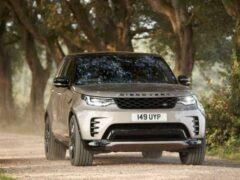 Обновленный Land Rover Discovery официально представлен
