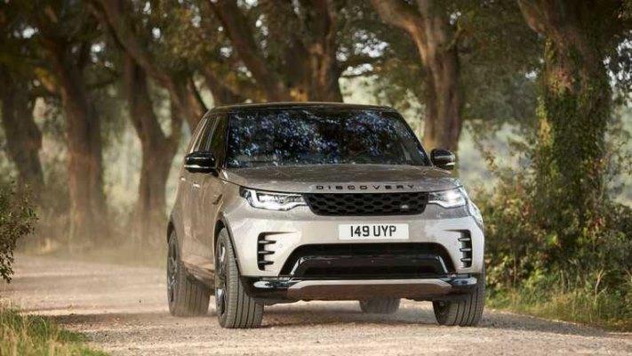 Land Rover Discovery, обновленный, среднеразмерный, внедорожник