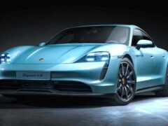Porsche сертифицировал в России свой электрический Taycan