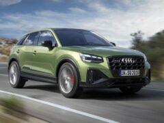 Audi показала рестайлинговый SQ2 с модернизированным турбомотором