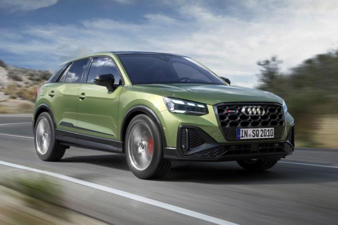 Audi SQ2, кросс обновленный