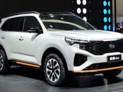 В Гуанчжоу дебютировал новый кросс Kia Sportage для рынка Китая