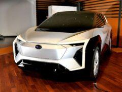 Внедорожник Subaru Evoltis 2022 года станет электрокаром