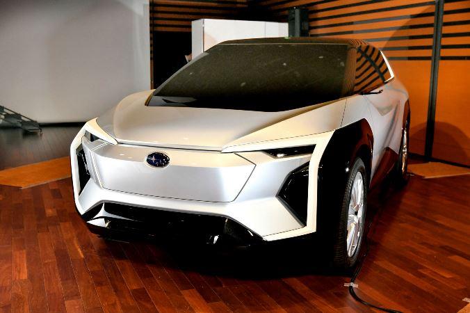 Subaru Evoltis, электрокар