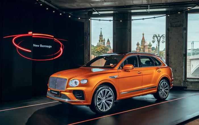 Bentley Bentayga, новый