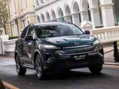 Honda покажет новый небольшой паркетник Honda M-NV