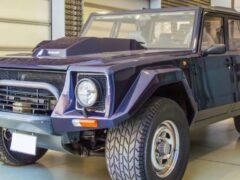 На аукционе будет продан внедорожник Lamborghini LM002 1988 года