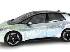 Электромобиль VW ID.3 получил задние барабанные тормоза