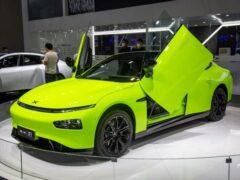 Дебютировал новый электрокар Xpeng P7 Wing Limited Edition