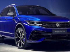 Volkswagen представил европейскую версию кроссовера Tiguan R