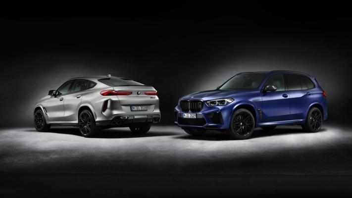 BMW X5 M и X6 M, версия First Edition