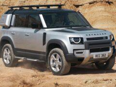 Объявлены рублевые цены на все комплектации Land Rover Defender