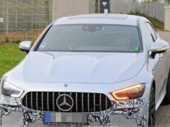 Обновлённый Mercedes-AMG GT 63 S сфотографировали возле Нюрбургринга