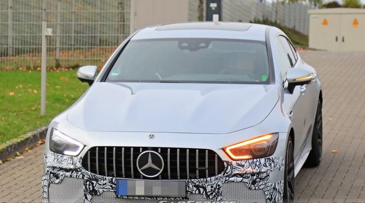 Mercedes-AMG GT 63 S, обновленный, тесты