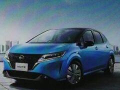 Nissan представит новый Nissan Note в ноябре