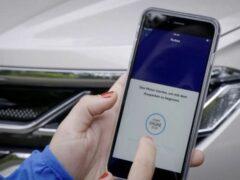 Volkswagen Touareg первым в мире получил функцию парковки с телефона