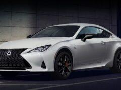 Lexus представил исполнение Black Line для моделей RC и ES