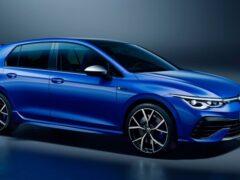 Volkswagen представил обновленный Golf R
